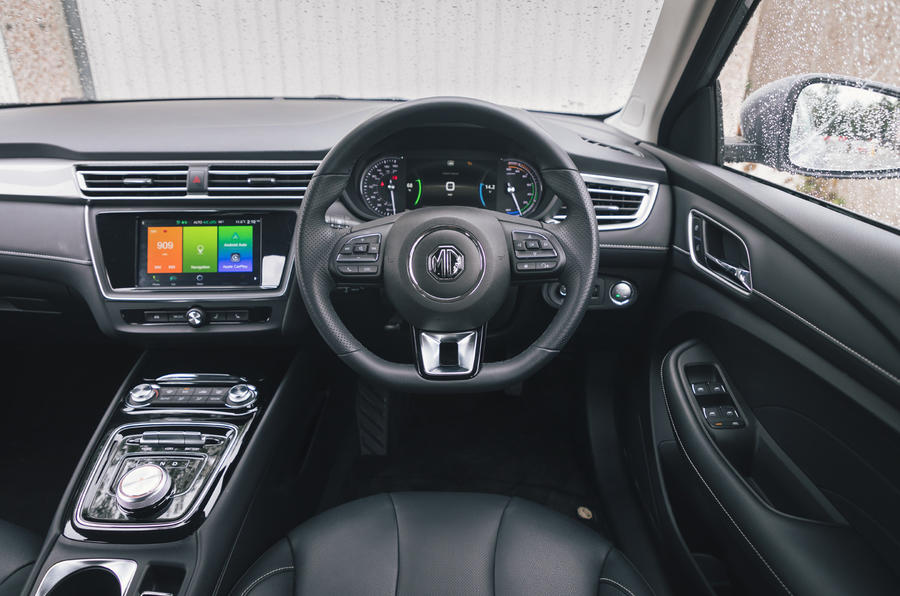 2020 MG 5 - steering wheel