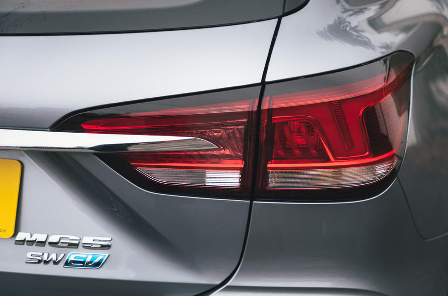 2020 MG 5 - rear light