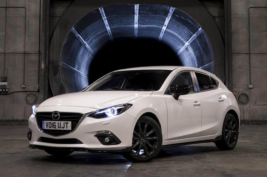 mazda 3 sport black revealed autocar. Black Bedroom Furniture Sets. Home Design Ideas