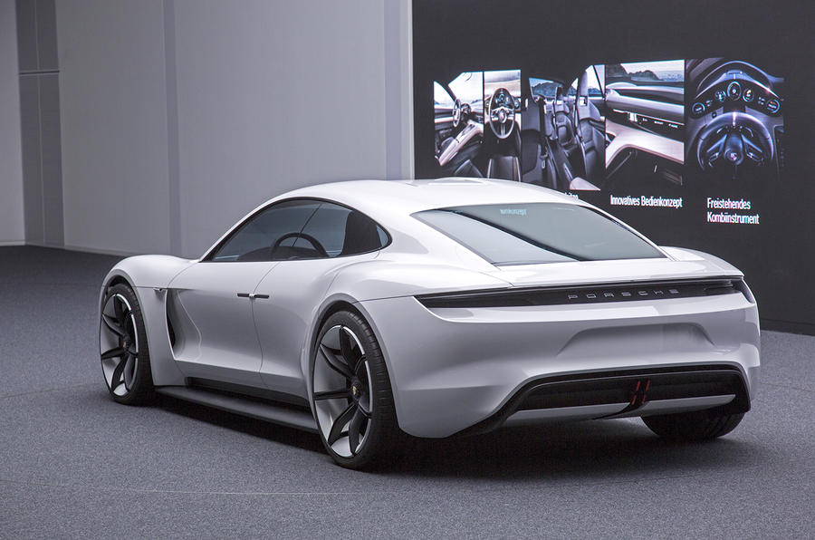 Porsche Mission E Electric Saloon Revealed At Frankfurt