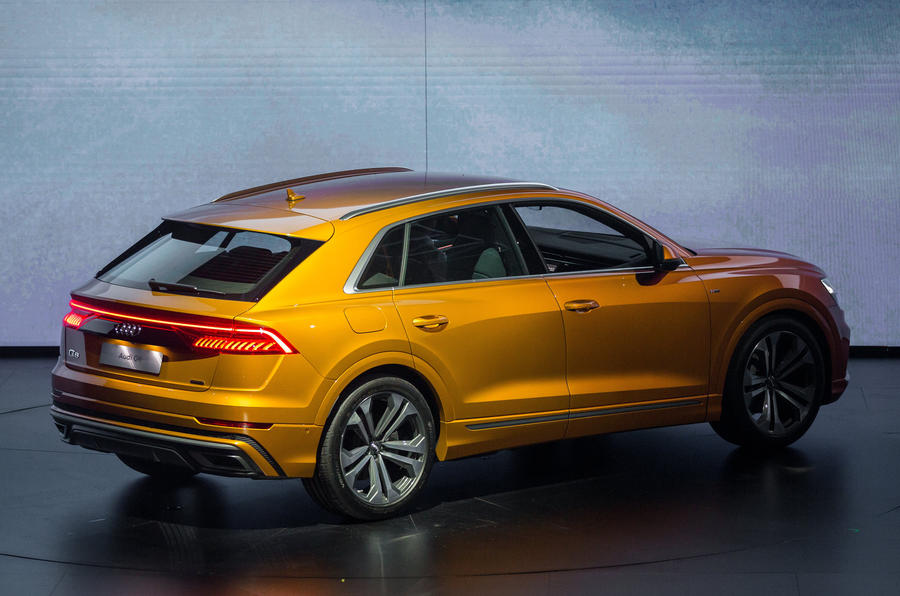 Audi Q8 SUV: Range Rover Sport and BMW X6 rival launched