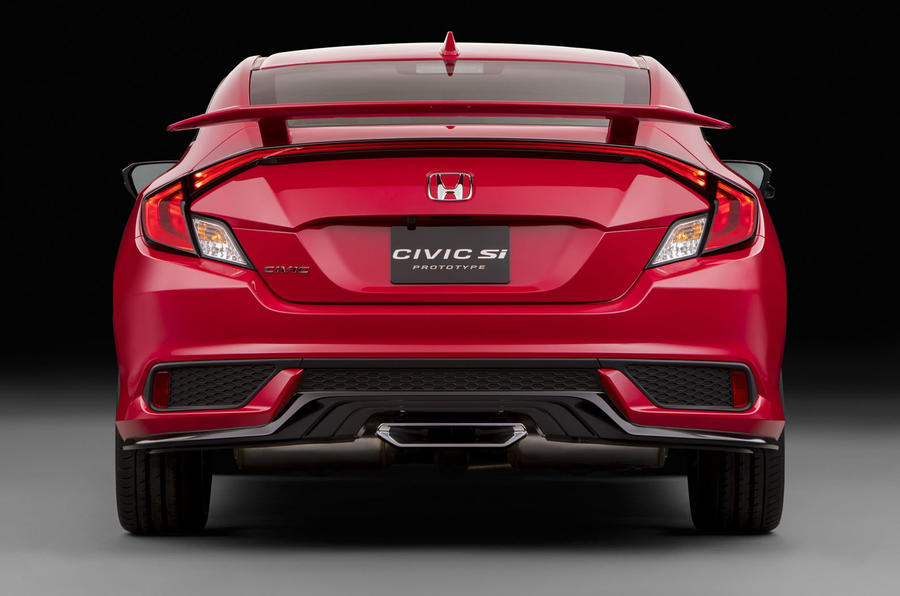 2017 honda civic si prototype previews us performance model autocar. Black Bedroom Furniture Sets. Home Design Ideas