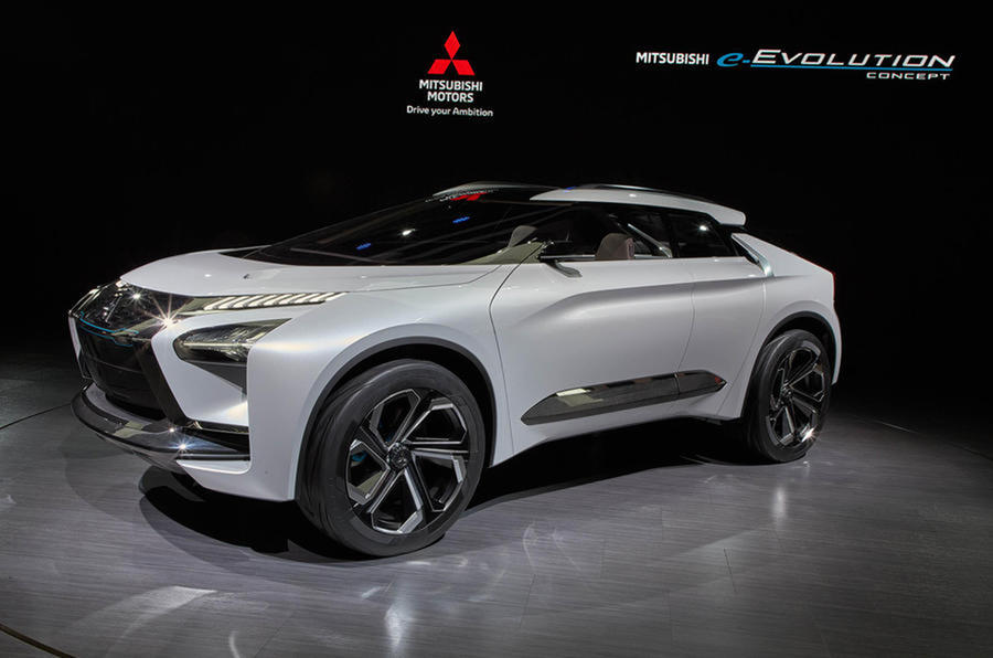 Mitsubishi e-Evolution concept car