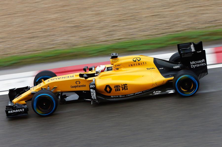 Renault F1 Infiniti hybrid