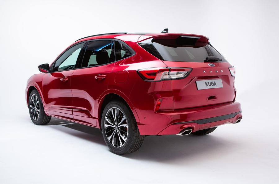 2020 Ford Kuga Hybrid Specs And Release Date >> New Ford Kuga Revealed With Fresh Design And Hybrid Option Autocar