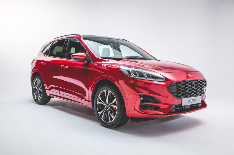 New 2019 Ford Kuga Revealed With New Look And Hybrid Tech Auto Express