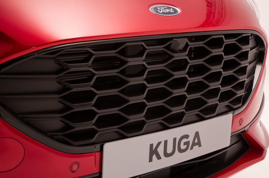 New Ford Kuga revealed with hybrid tech