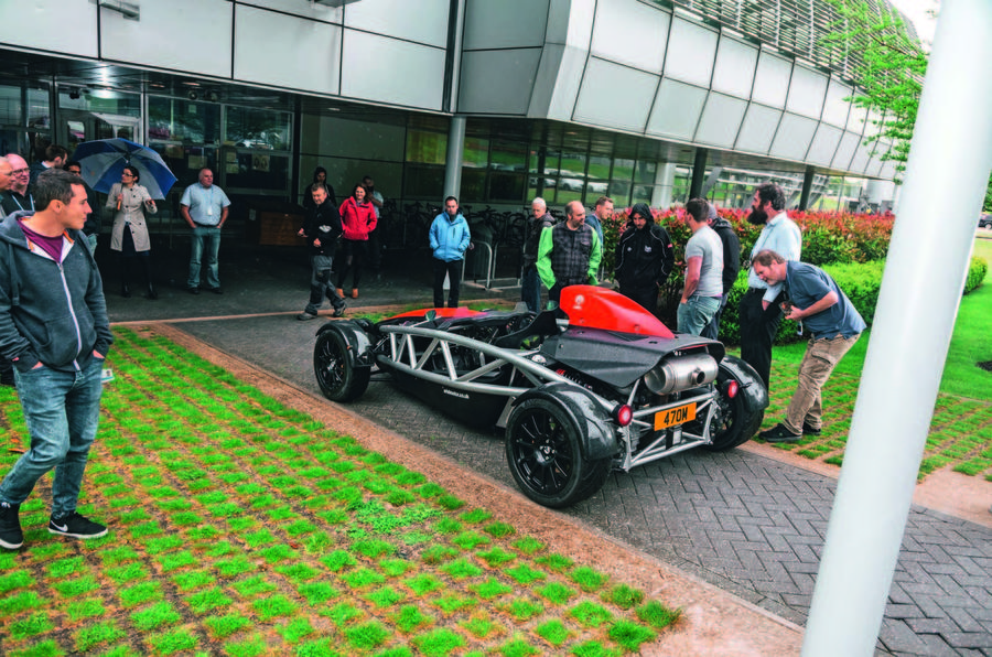 Ariel Atom goes to Diamond Light Source - parked up