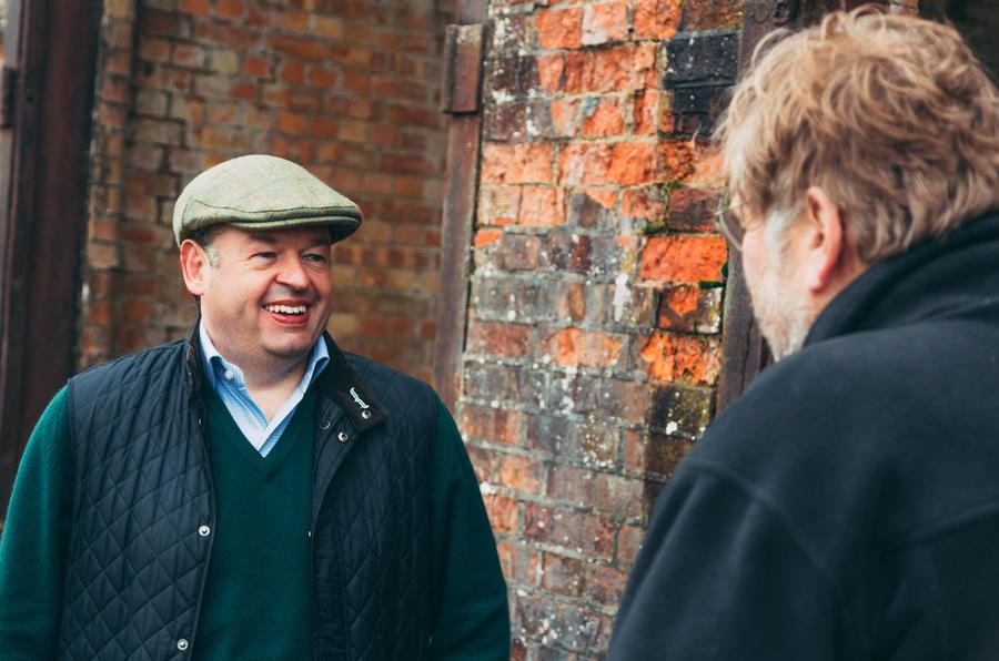 Dan Geoghegan at Bicester Heritage