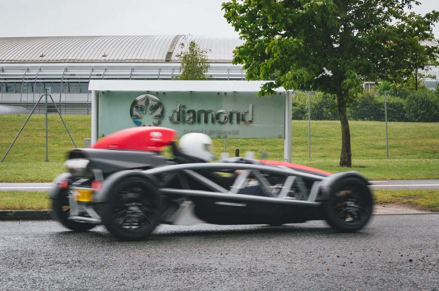 Ariel Atom 4: a wet road trip in the lightweight two-seater