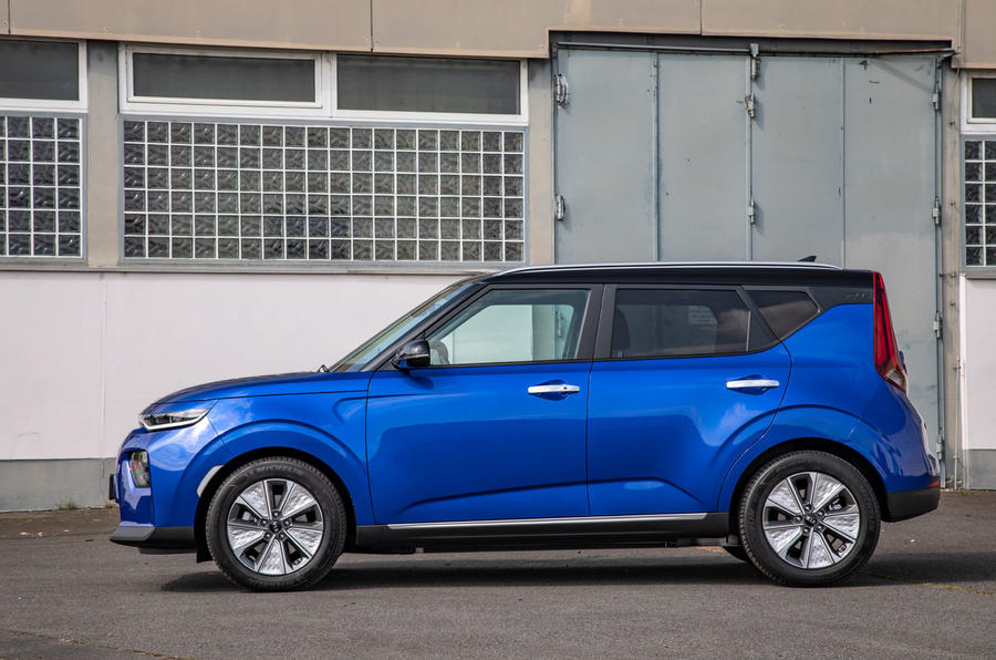 Kia Soul EV side static
