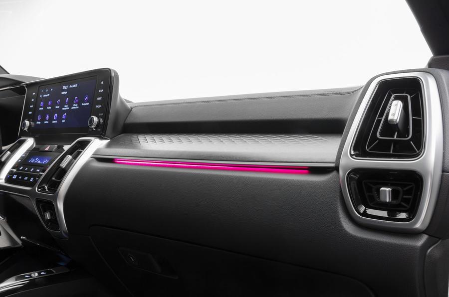 2020 Kia Sorento unveiling - dashboard