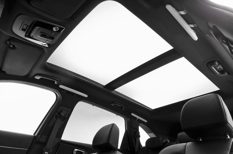2020 Kia Sorento unveiling - sunroof