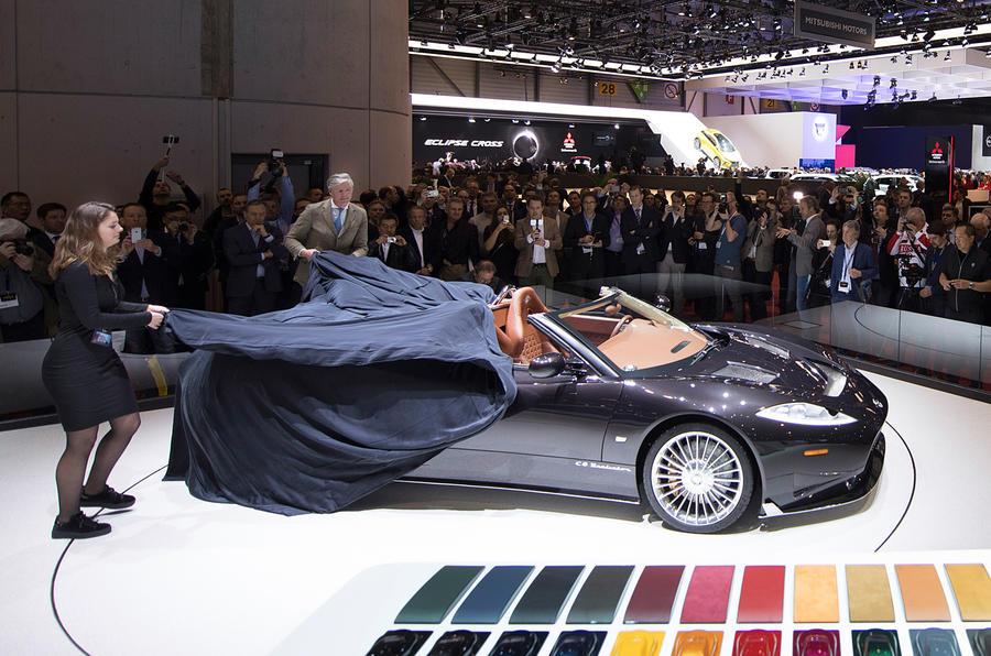 Spyker C8 Preliator Spyder gets 592bhp Koenigsegg V8