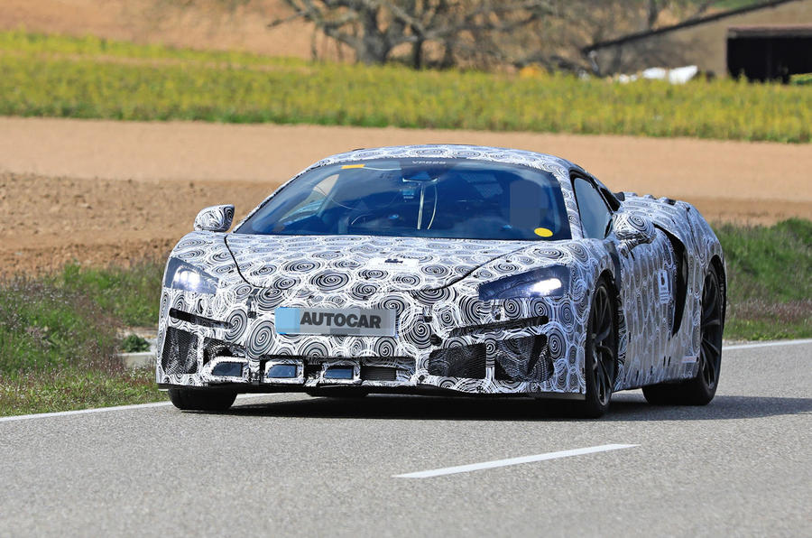 2020 McLaren Sports Series Hybrid prototype