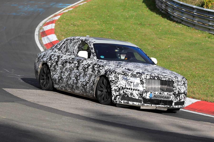 Rolls-Royce Ghost Nürburgring