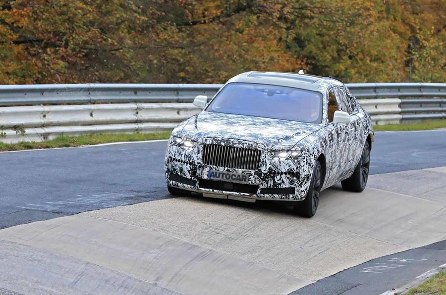 Rolls-Royce Ghost Nurburgring spies  frton carousel