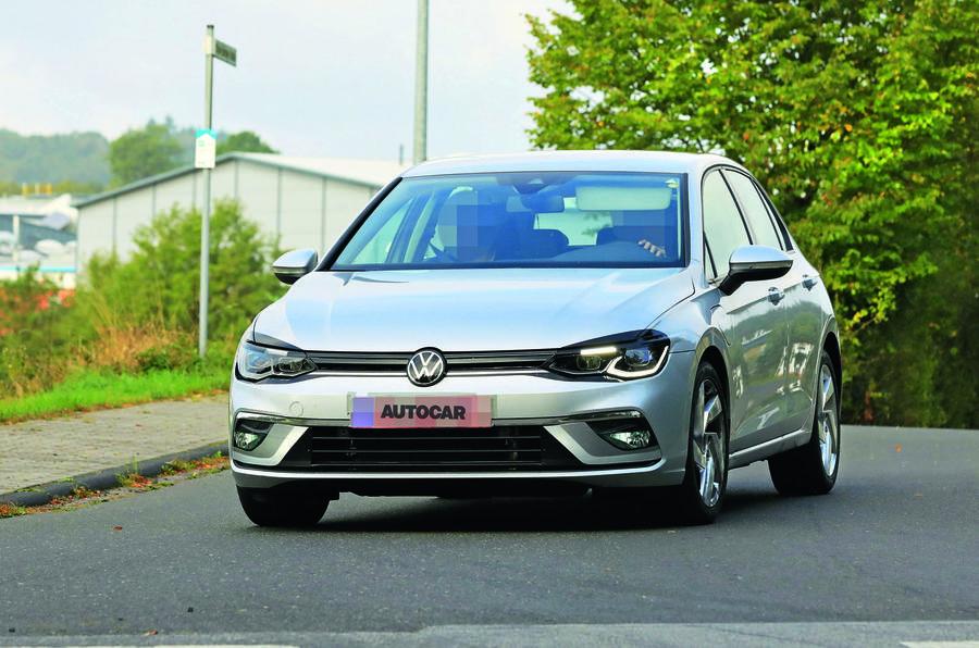 2020 Volkswagen Golf GTE spyshot