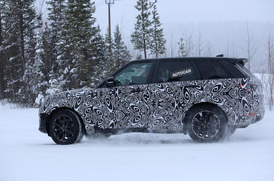 Range Rover Sport plug-in hybrid prototype