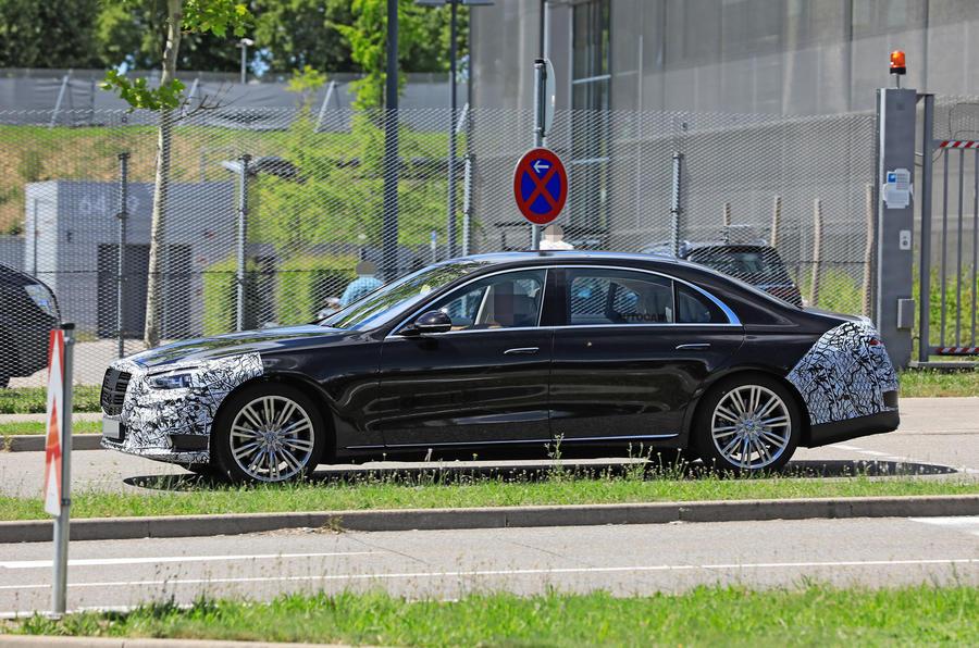 2021 Mercedes-Benz S-Class prototype