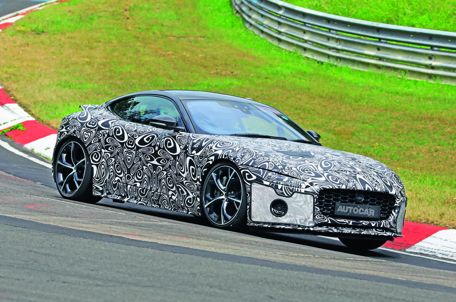 2020 Jaguar F-Type prototype at Nurburgring