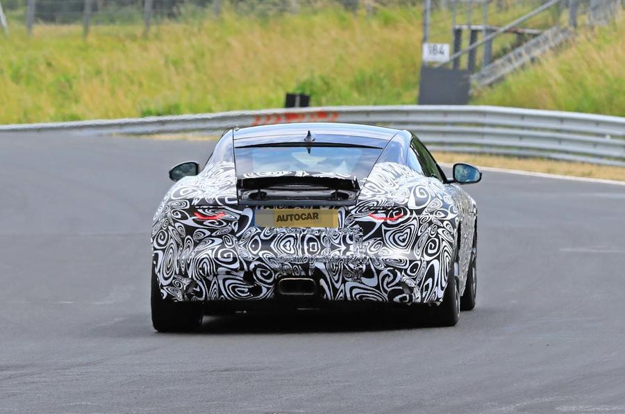 2020 Jaguar F-Type prototype