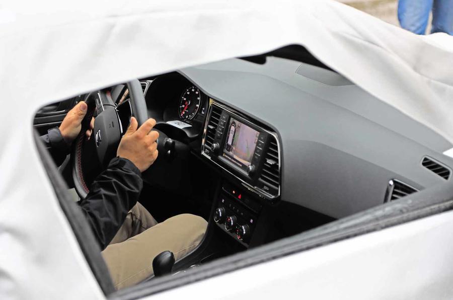 Disguised Seat Ateca interior