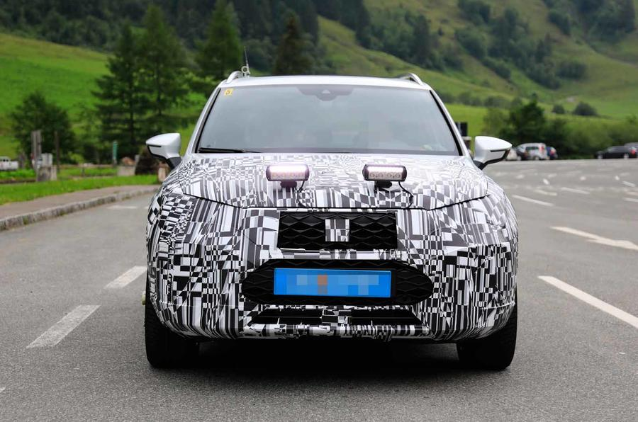 Disguised Seat Ateca front