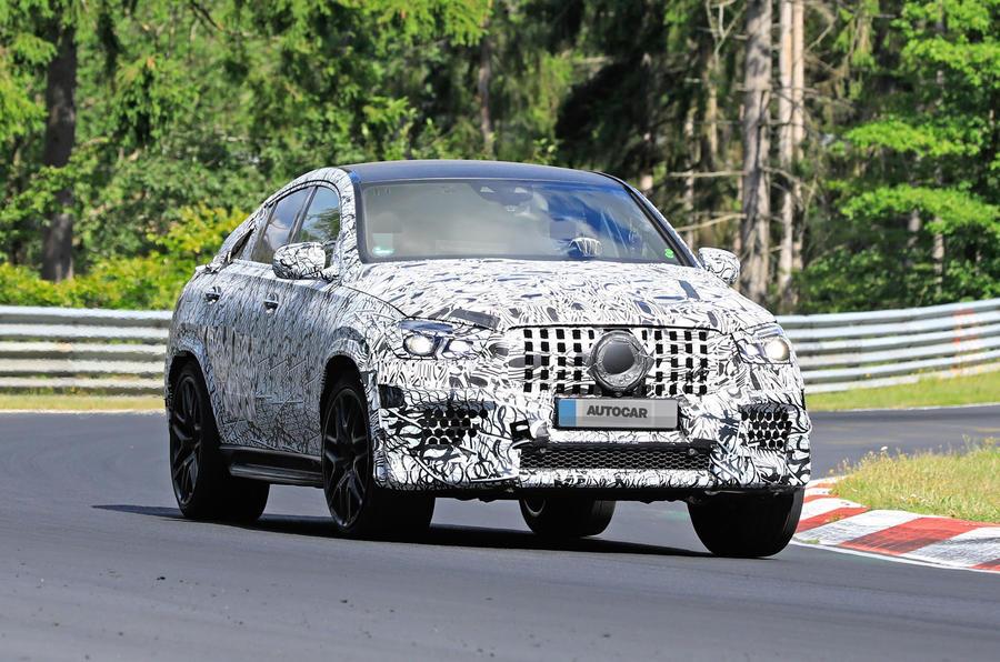 Mercedes-AMG GLE 63 Coupe spy shots