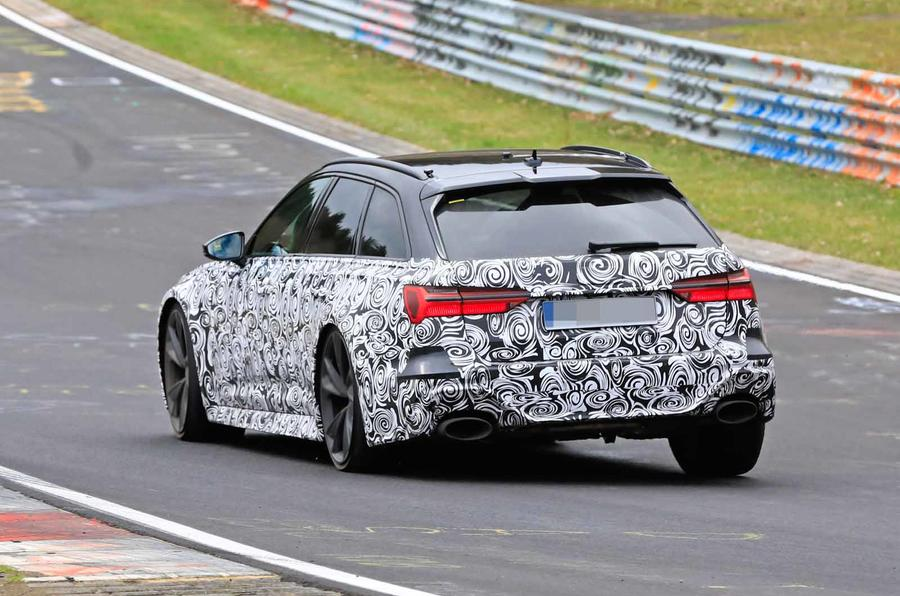 New Audi Rs6 Avant 600bhp Estate Hits The Nurburgring Autocar