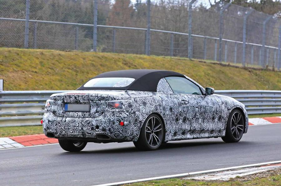 BMW 4 Series Convertible spyshot