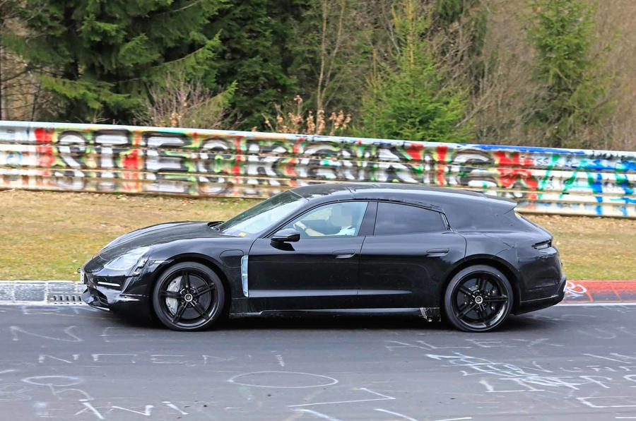 Porsche Taycan Cross Turismo New Ev Estate Hits The Ring