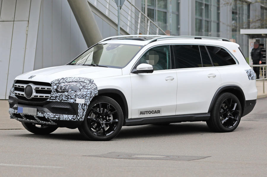 New Mercedes Benz Gls Spotted Before New York Debut Autocar