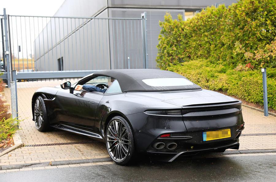 New Aston Martin Dbs Superleggera Volante Seen In Production Guise Autocar