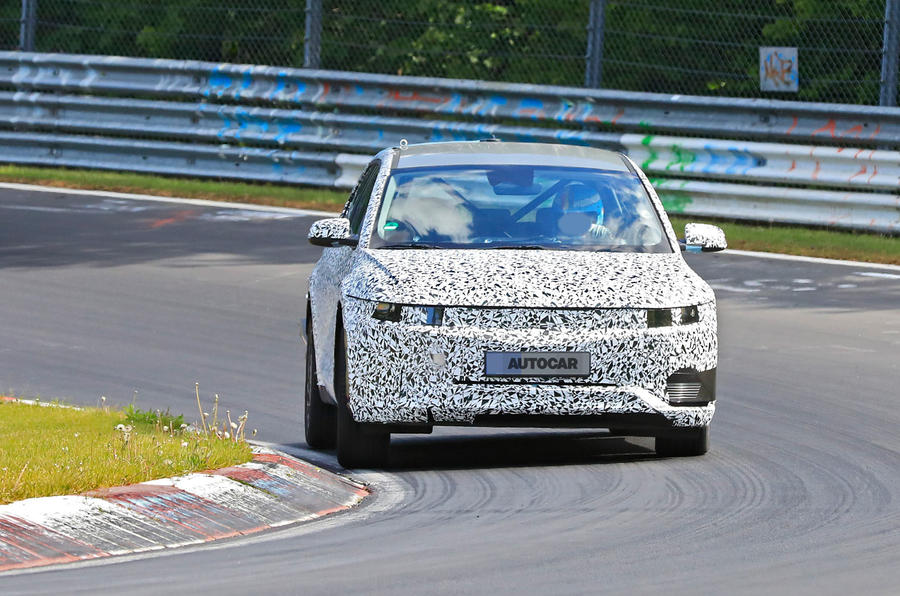 2021 Hyundai 45 prototype at the Nurburgring