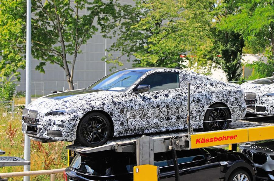 2020 BMW 4 Series Coupe Redesign, Specs, And Rumors >> New Bmw 4 Series Coupe Spied Testing At Nurburgring Autocar
