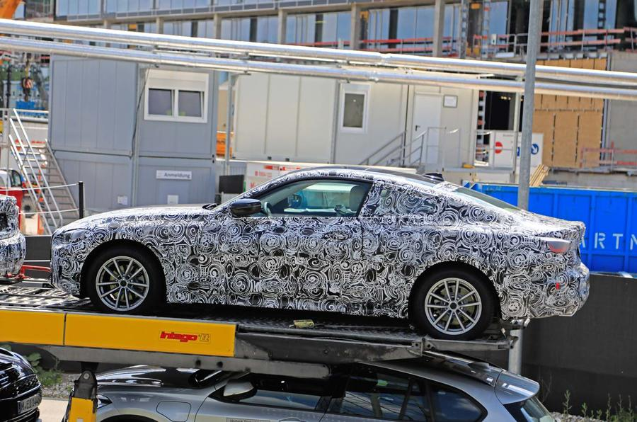 2020 BMW 4 Series Coupe spy shots