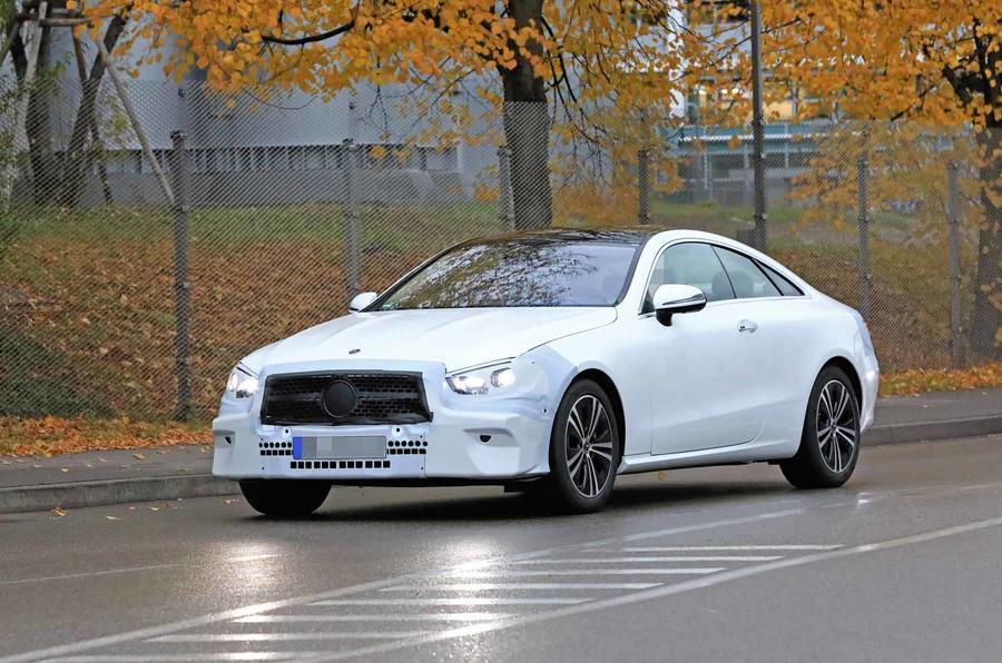 New 2020 Mercedes E Class Coupe Caught Testing Autocar