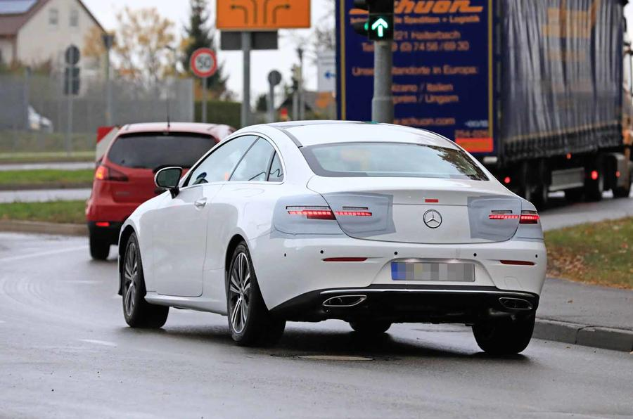New 2020 Mercedes E-Class Coupe caught testing | Autocar