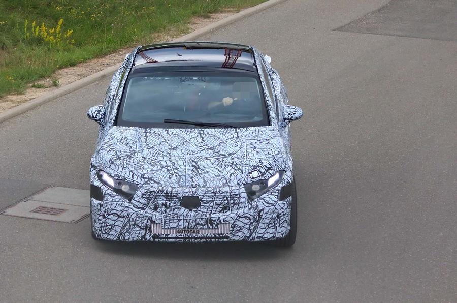 2021 Mercedes-Benz EQ S prototype spotted