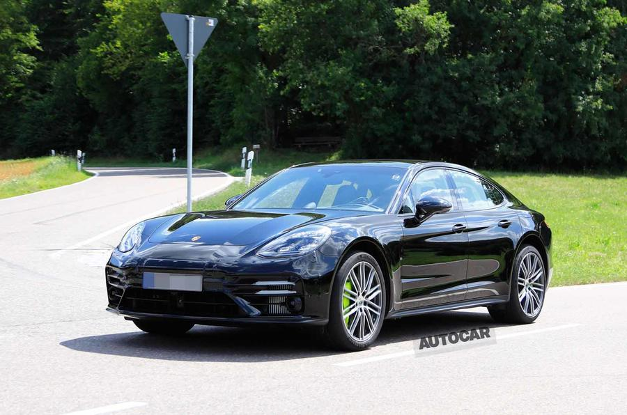 Porsche Panamera 2020 Facelift Spotted Barely Disguised Autocar