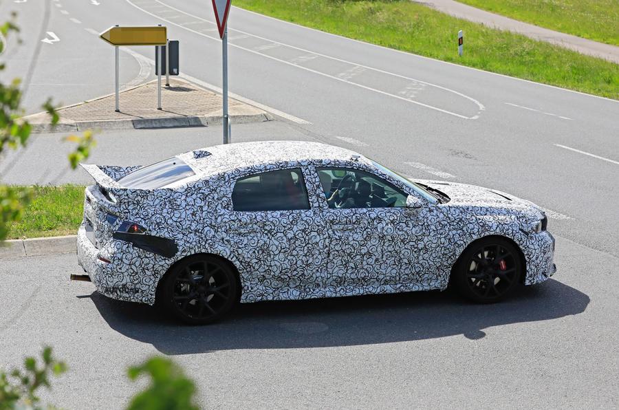2022 Honda Civic Type R prototype - side