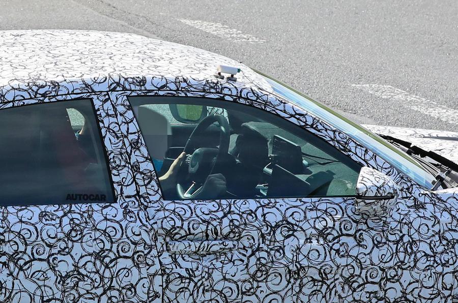 2022 Honda Civic Type R prototype - interior
