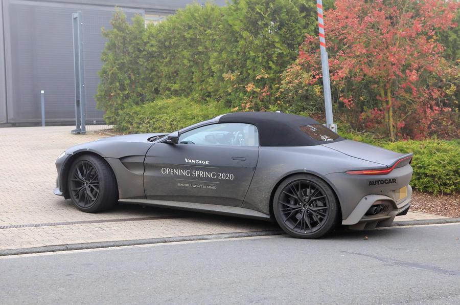 2020 Aston Martin Vantage prototype