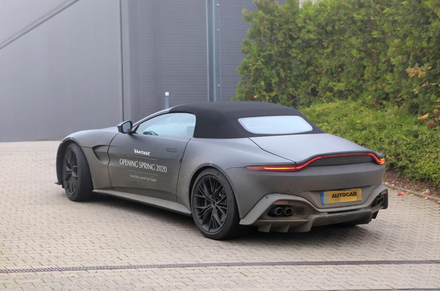 Aston Martin Preparing Vantage Roadster For 2020 Reveal Autocar
