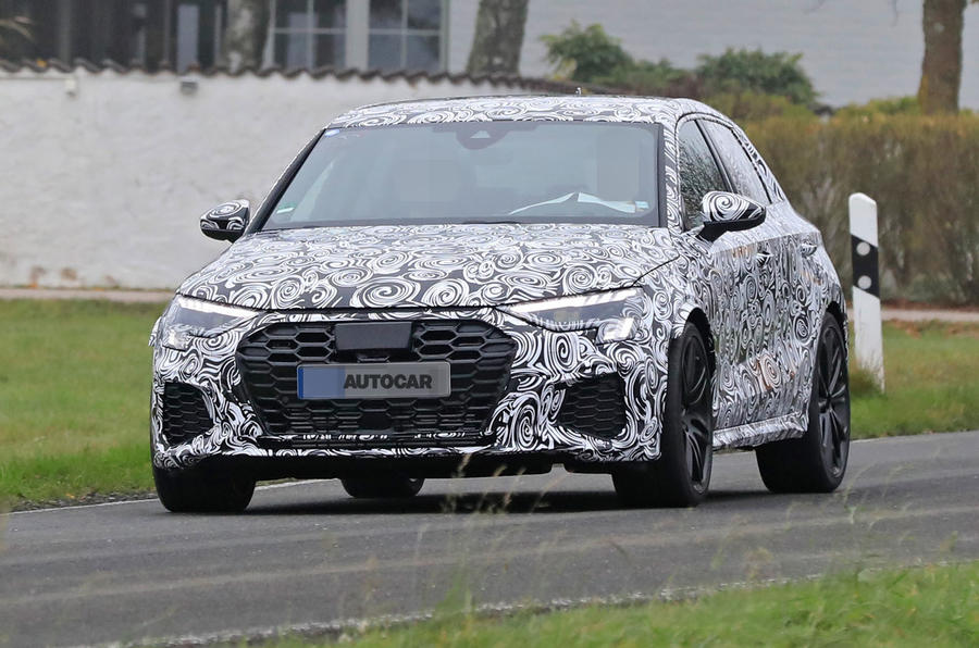 2020 Audi RS3 prototype - front