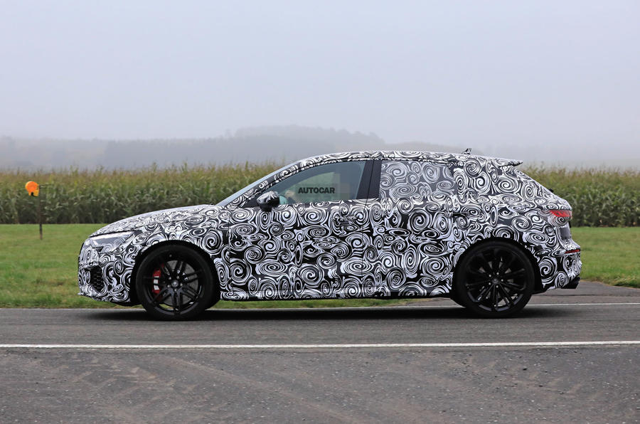 2020 Audi RS3 prototype - side