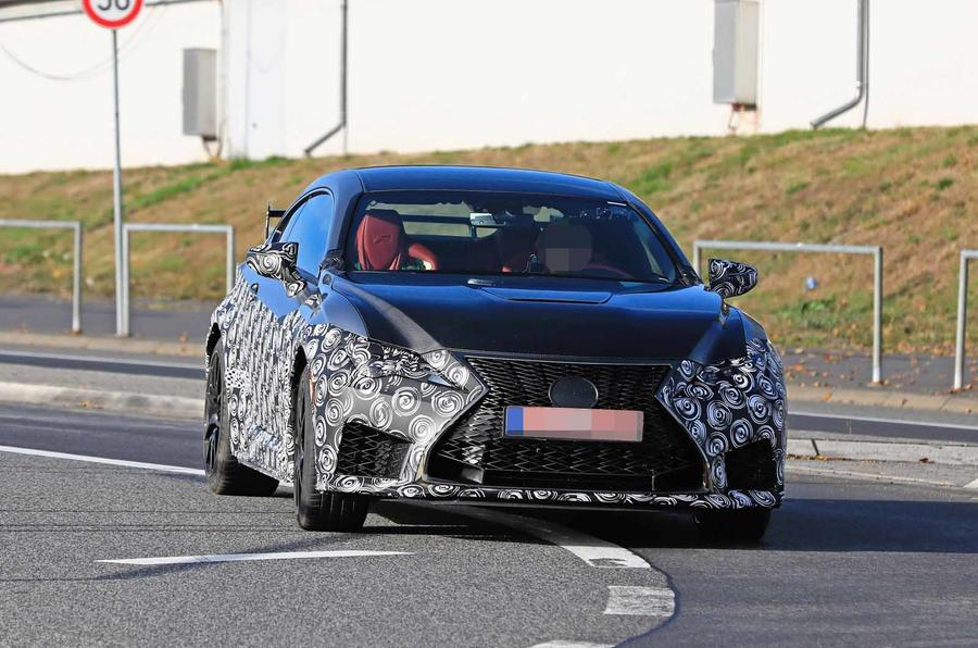Lexus Rc F Track Edition Spyshots And First Official Image Autocar