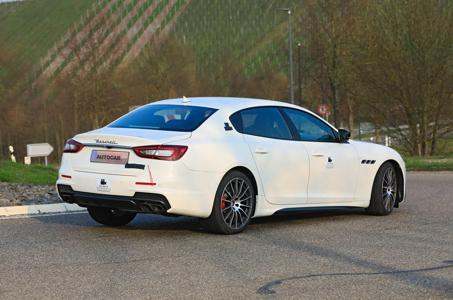2021 Maserati Quattroporte prototype