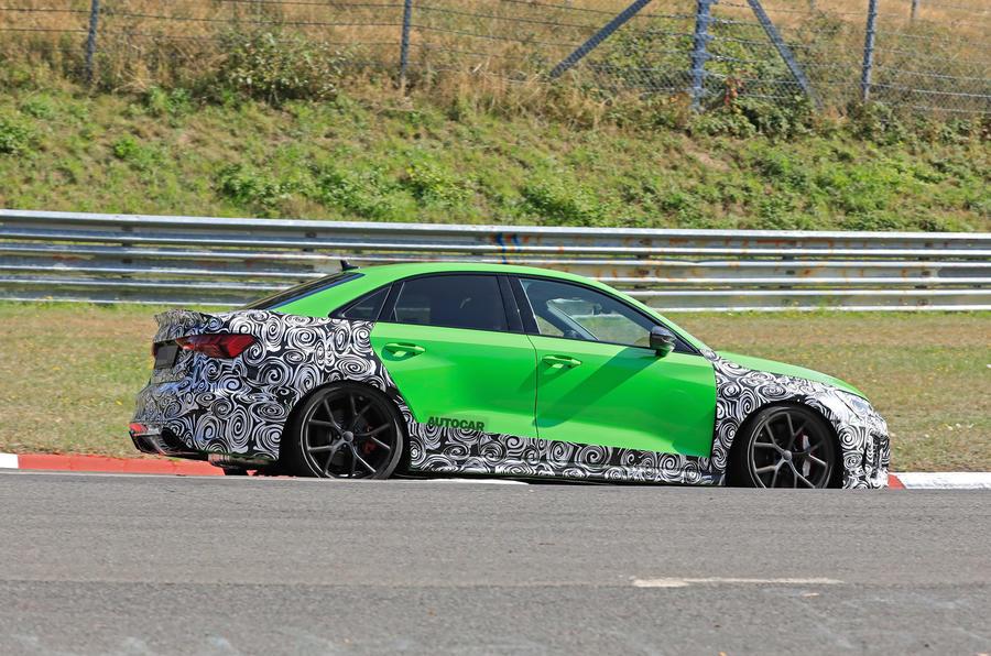 2020 Audi RS3 prototype